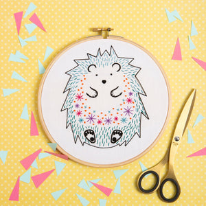 Hawthorn Hedgehog Embroidery Kit