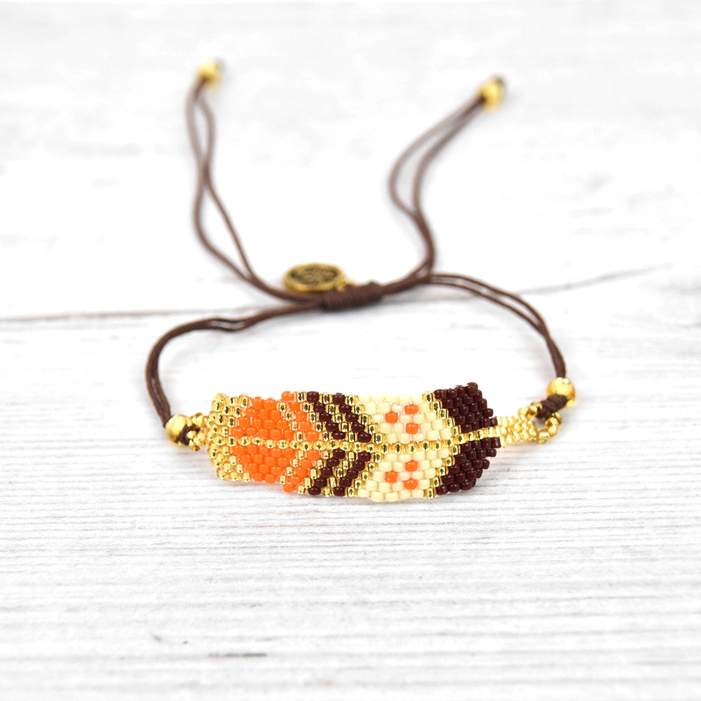 Pineapple Island Beaded Arrow Bracelet (3 colours)