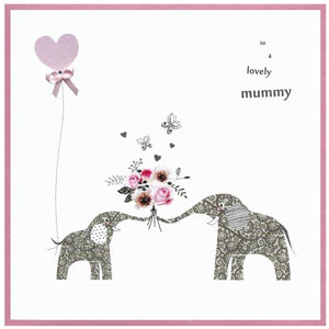 Cinnamon Aitch Card: Springtime, to a lovely mummy