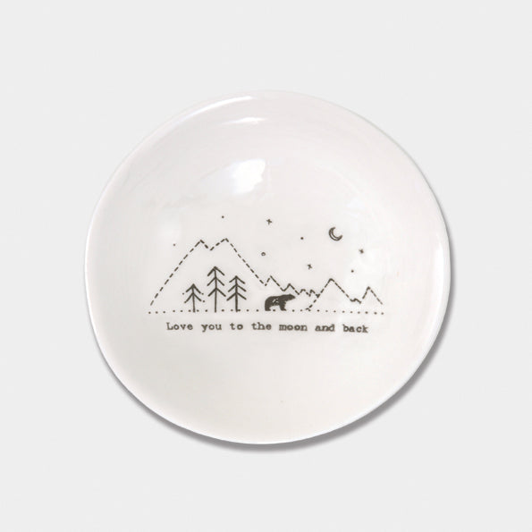 East Of India Med wobbly bowl (2 styles)