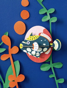 Studio Roof Wall Decoration - Clown Triggerfish
