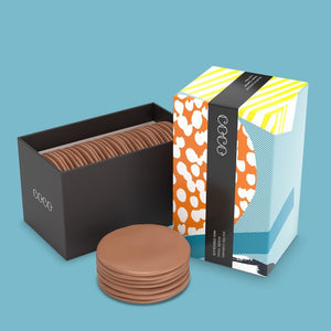 CoCo Chocolatier Salted Caramel Milk Chocolate Wafer Thins 200g