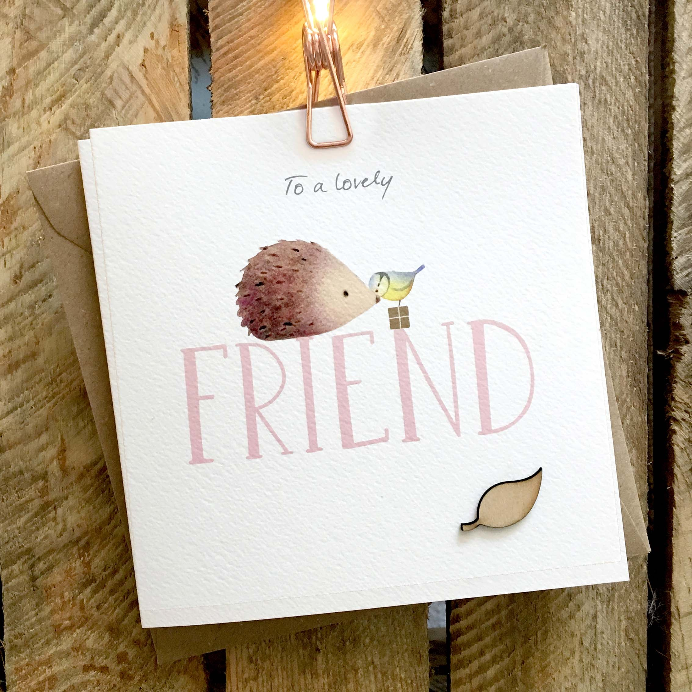 Ginger Betty Card - Friend