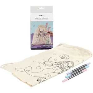 Creativ Company Magical Mermaid Fabric Painting Kit