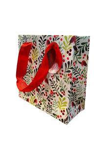 Glick Gift Bags - Small PS Mistletoe & Robins
