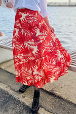Load image into Gallery viewer, Lollys Laundry Bonny Skirt - Flower Print