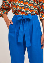 Load image into Gallery viewer, Compania Fantsatica Blue Ankle Grazer Trousers