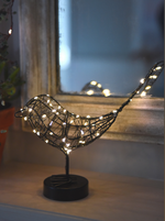 Load image into Gallery viewer, Lightstyle London Table Robin Light, Battery powered (two colours)