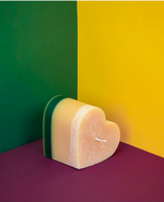 Load image into Gallery viewer, Recycled Candle Co. Single Heart Candle (four scents)