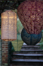 Load image into Gallery viewer, Lightstyle London Solar Powered Lantern - Cylinder