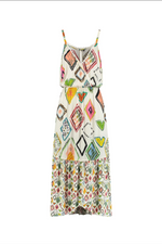 Load image into Gallery viewer, Pom Amsterdam Dress - Nature's Mozaic Multi