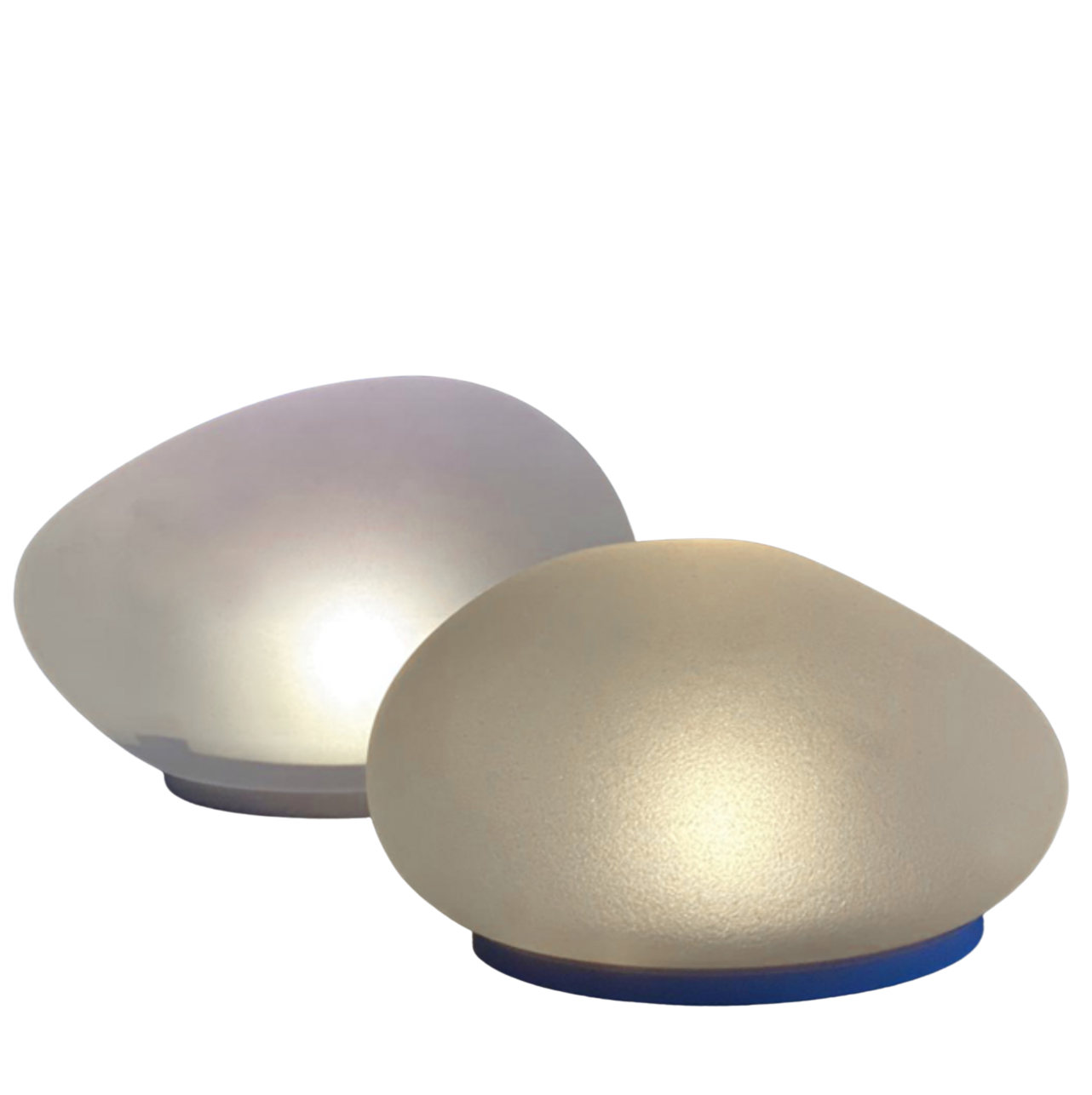 Lightstyle London Solar Powered Glass Pebble - Large