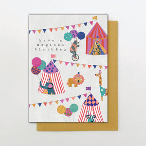 Stop the Clock Have a Magical Birthday Card