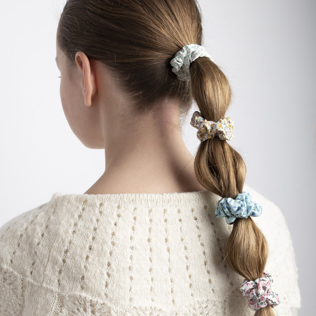 Mimi and Lula Floral Scrunchies