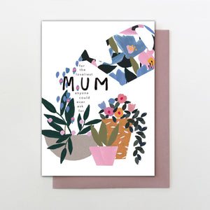 Stop the Clock Loveliest Mum Mother's Day Card
