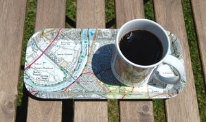 Weekend365 Woking or Surrey Map Snack Tray