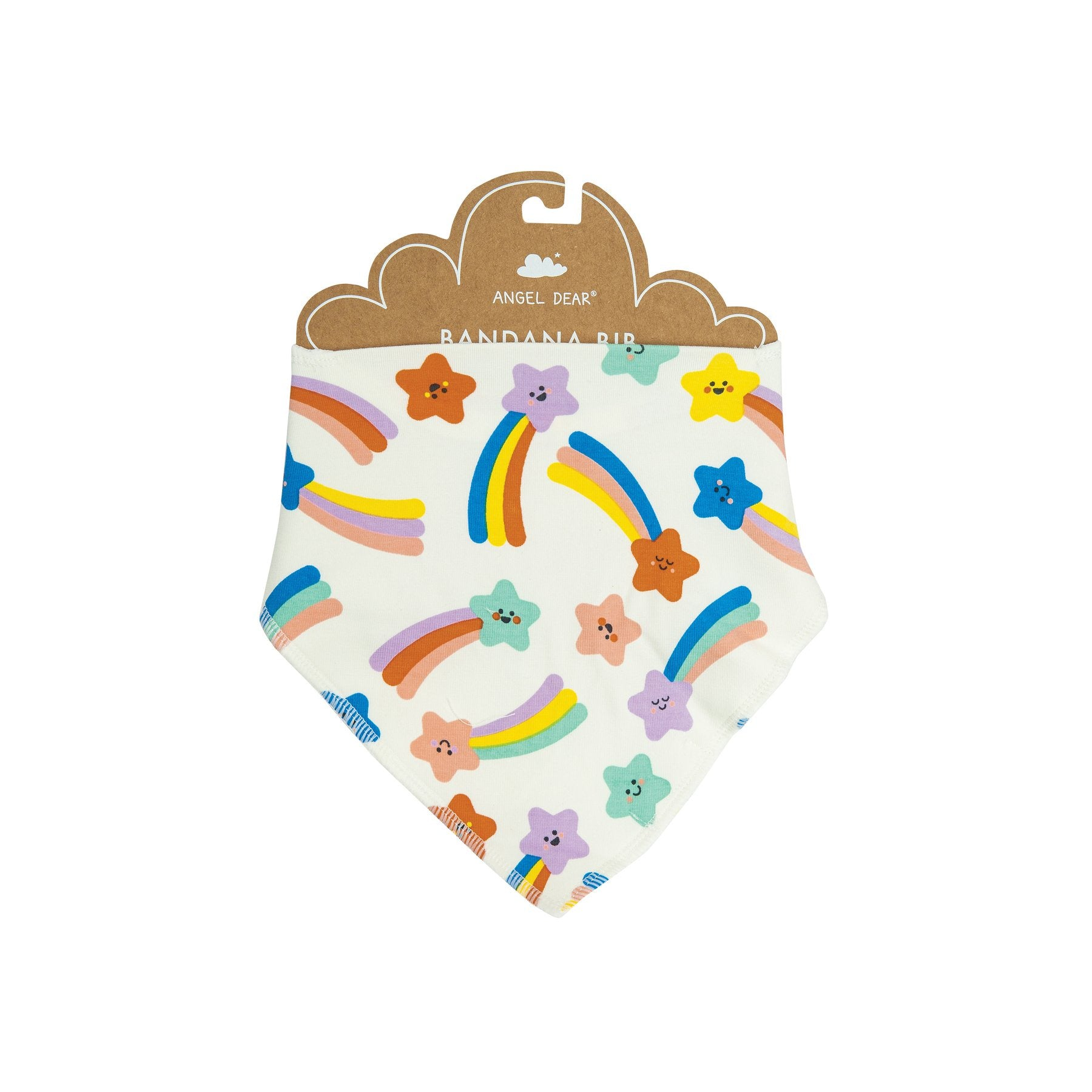 Angel Dear Shooting Stars Bandana Bib