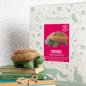 Hawthorn Tortoise Needle Felting Kit
