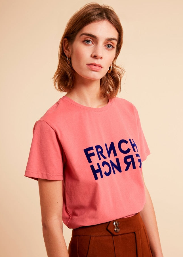 Frnch T-shirt Rose