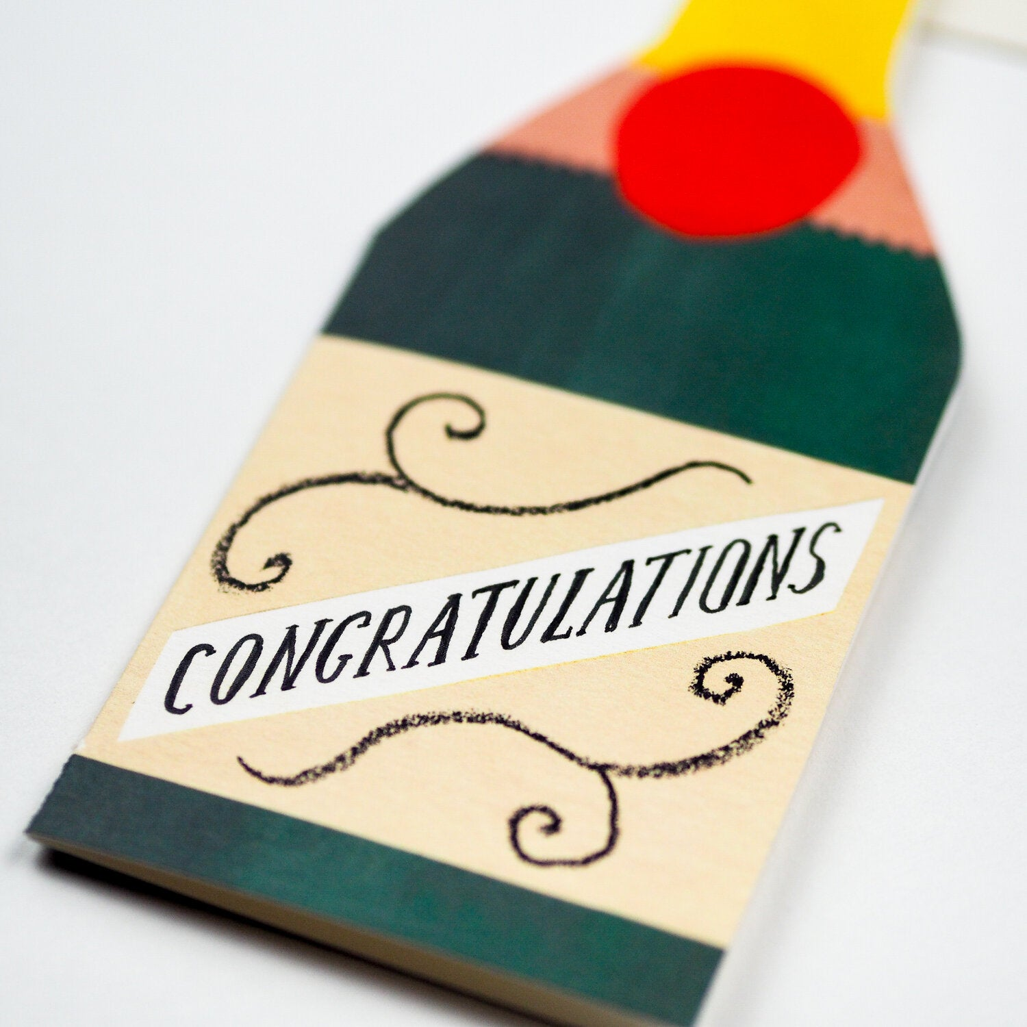 Hadley Cards - Champagne Congratulations Card