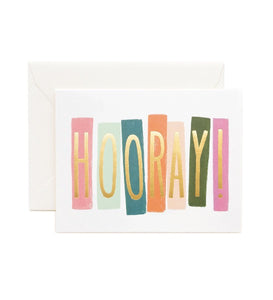 Rifle Paper Co. Hooray Card