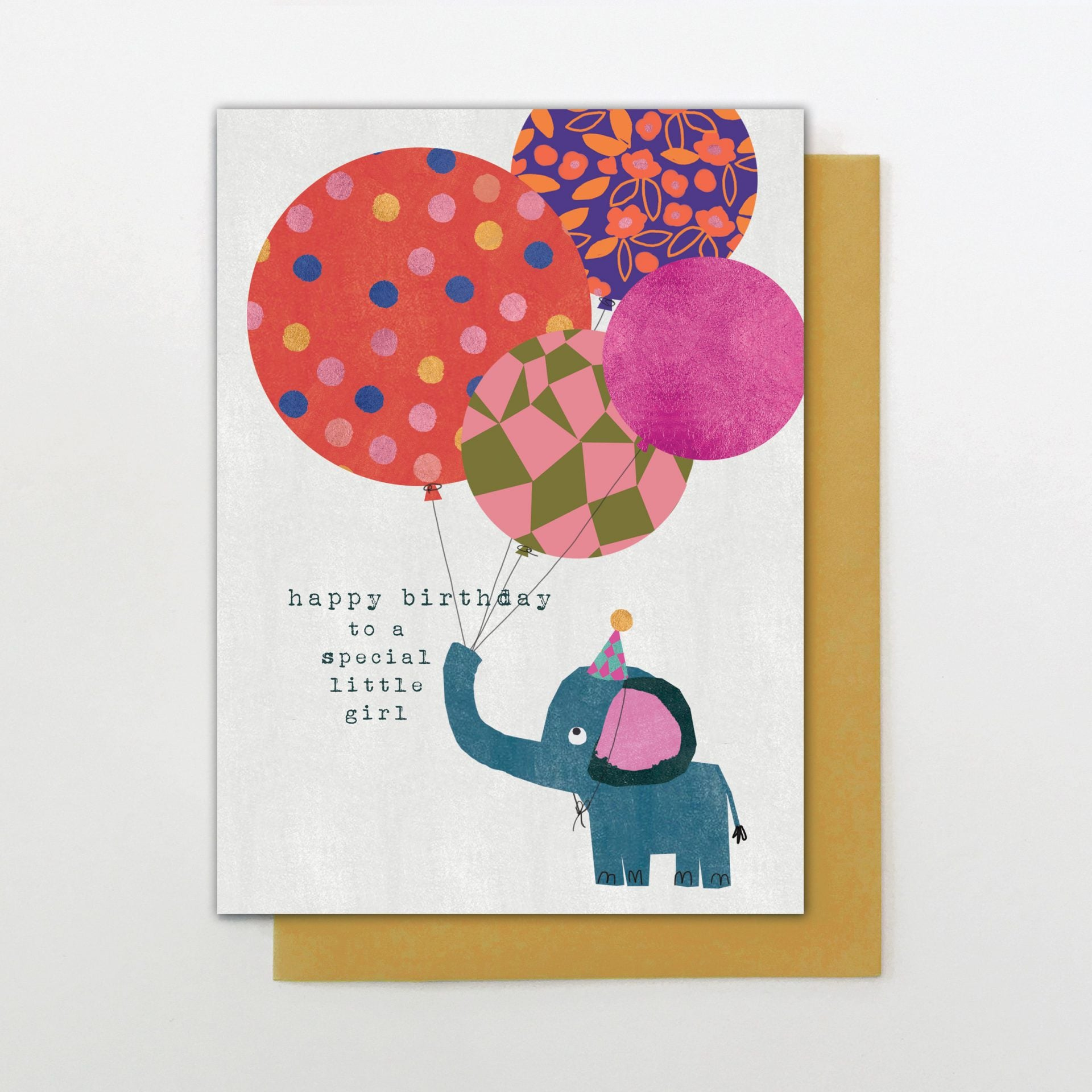Stop the Clock Happy Birthday to a Special Little Girl Card