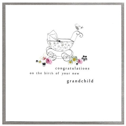 Cinnamon Aitch Card: Piccadilly, new grandchild