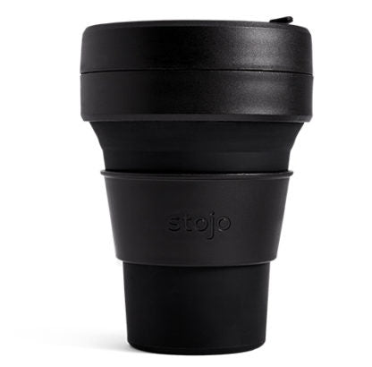 Stojo Pocket Brooklyn Collapsible Cup 12oz/355ml (four designs)
