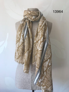 Miss Shorthair scarves (range at £14.95)