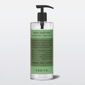 Puritx Hand Sanitiser 250ml (4 scents)