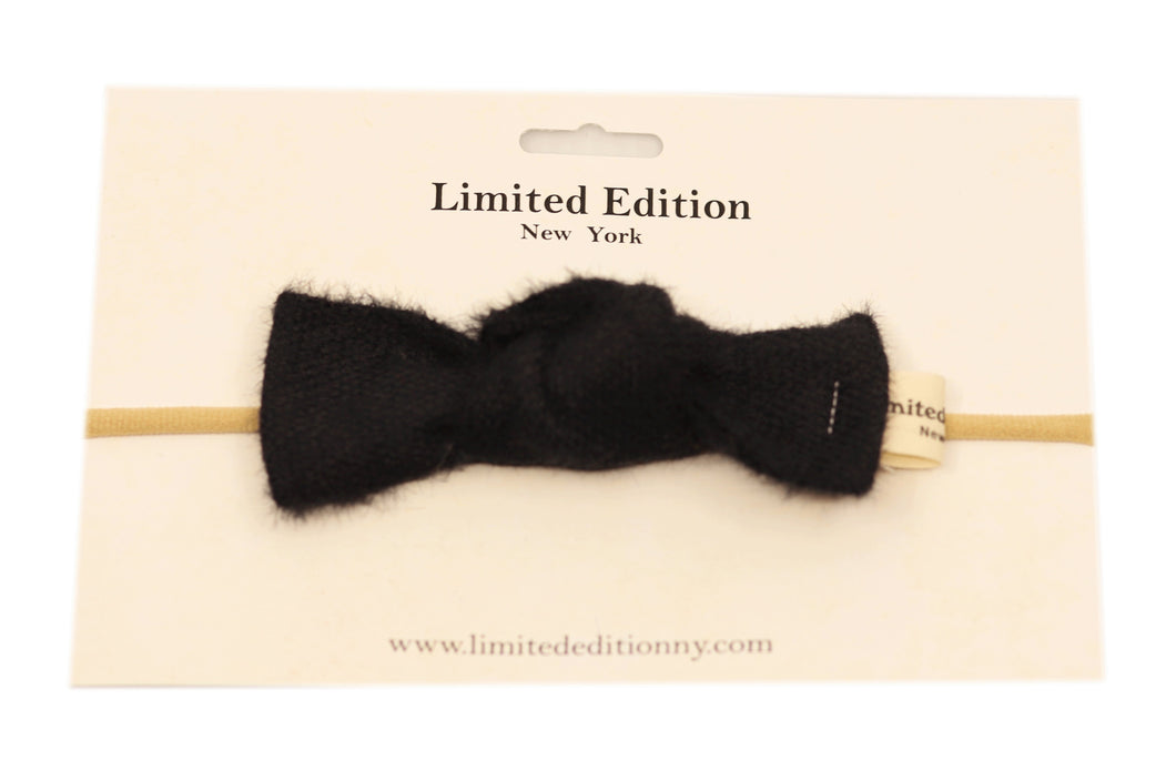 Baby Woolen Headband - Black