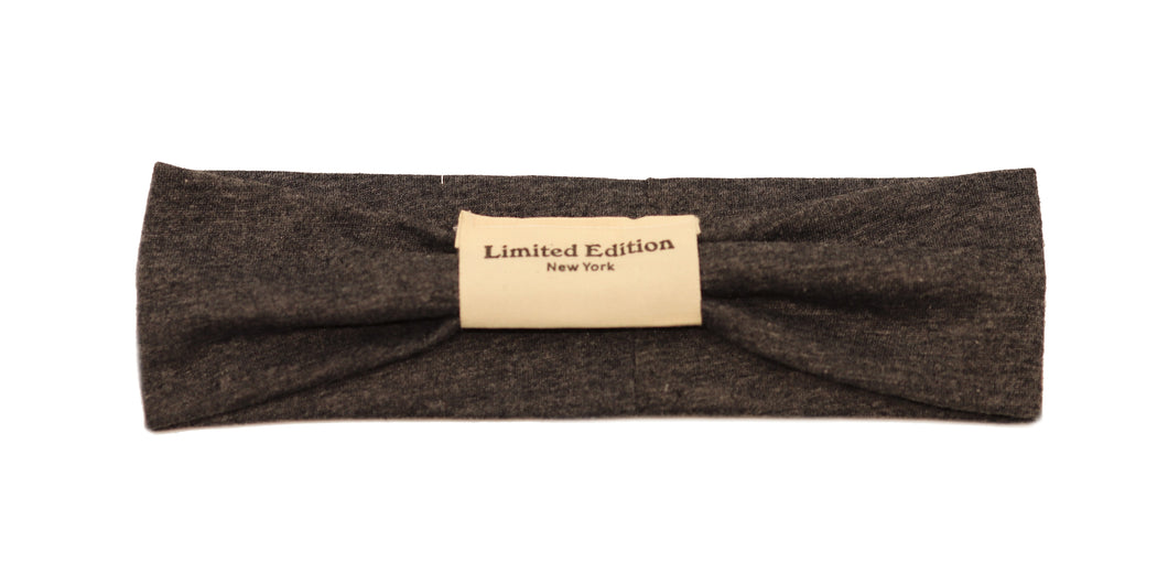 Classic School Hairband - Charcoal