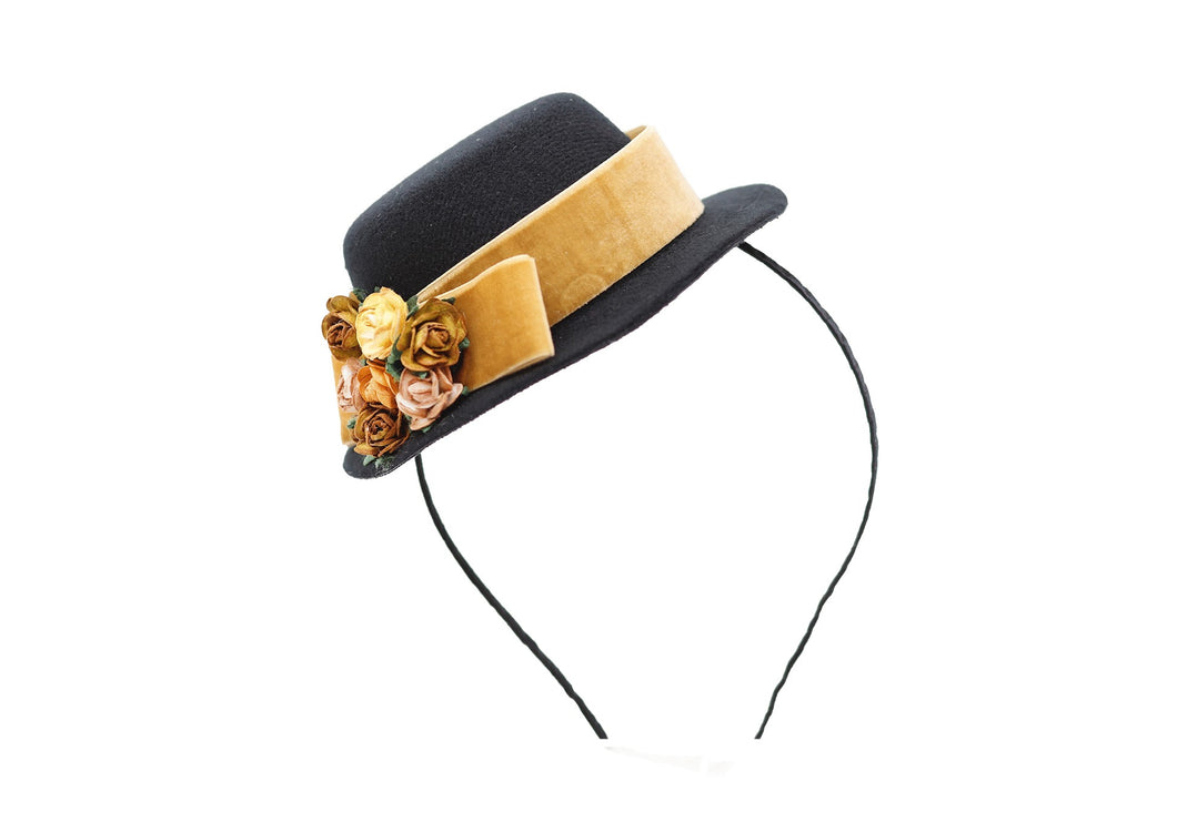 Vintage Hat Headband - Medallion