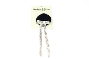 Little Lady Hat Clip - Small - Black