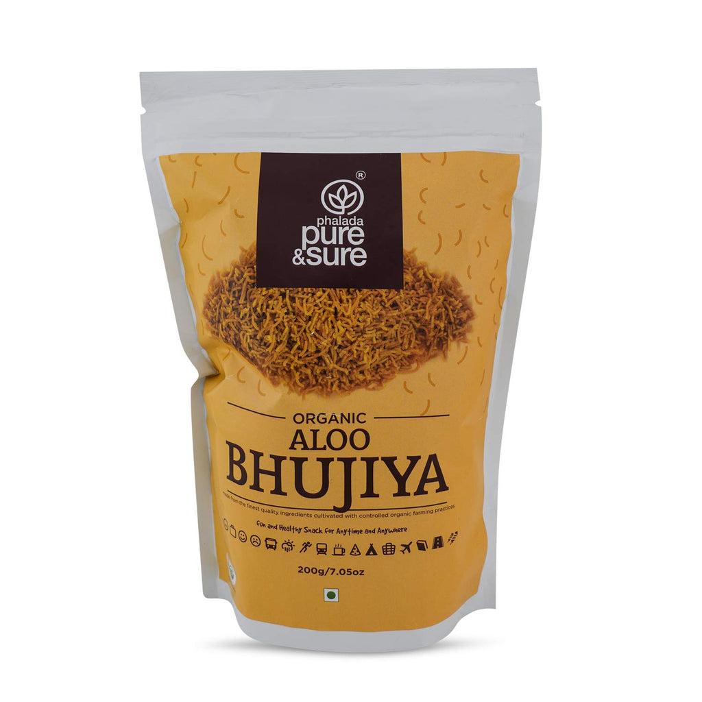 ALOO BHUJIA 200GM by PURE & SURE - Vnya, Of the Wild