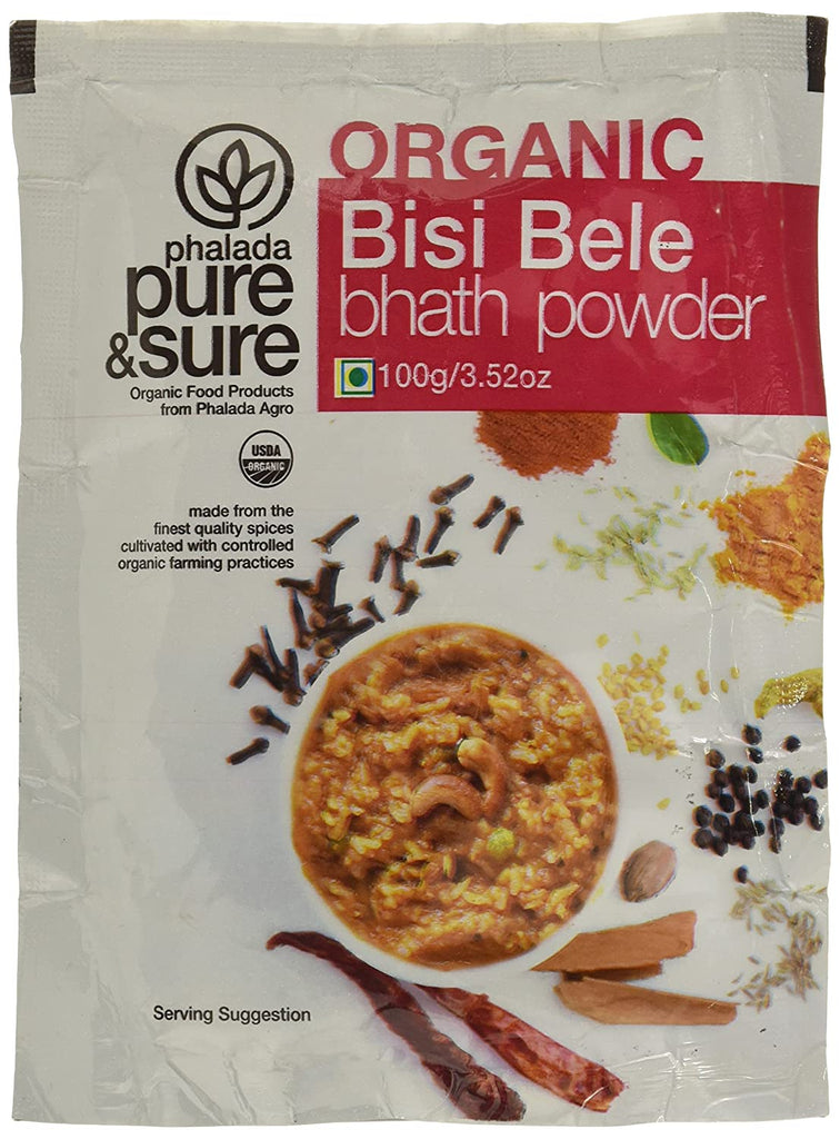 BISIBELEBATH POWDER 100GM by PURE & SURE - Vnya, Of the Wild