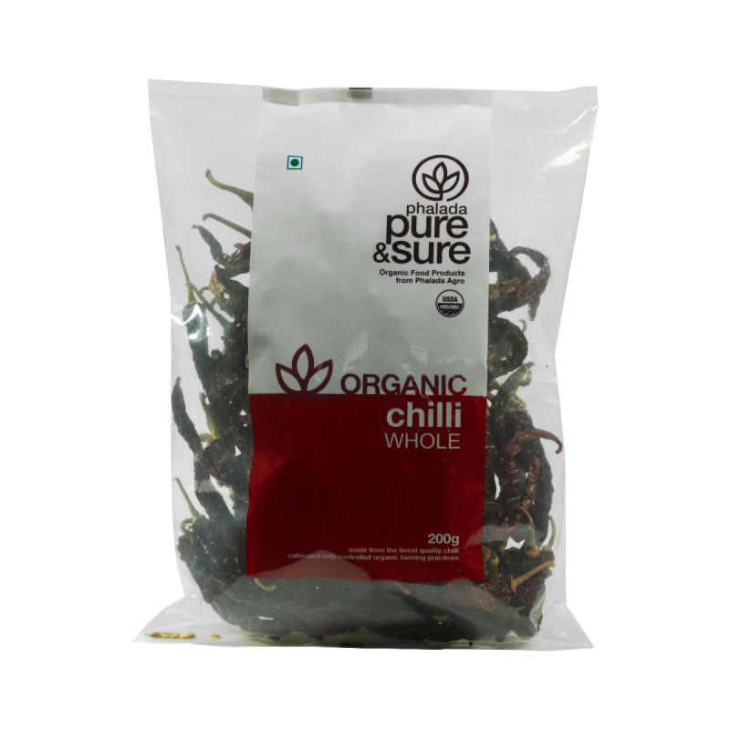 CHILLI WHOLE 200GM by PURE & SURE - Vnya, Of the Wild