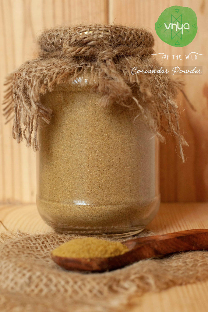 CORIANDER POWDER by Vnya - Vnya, Of the Wild