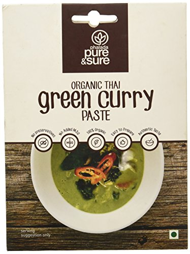 THAI GREEN CURRY PASTE 50GM by PURE & SURE - Vnya, Of the Wild