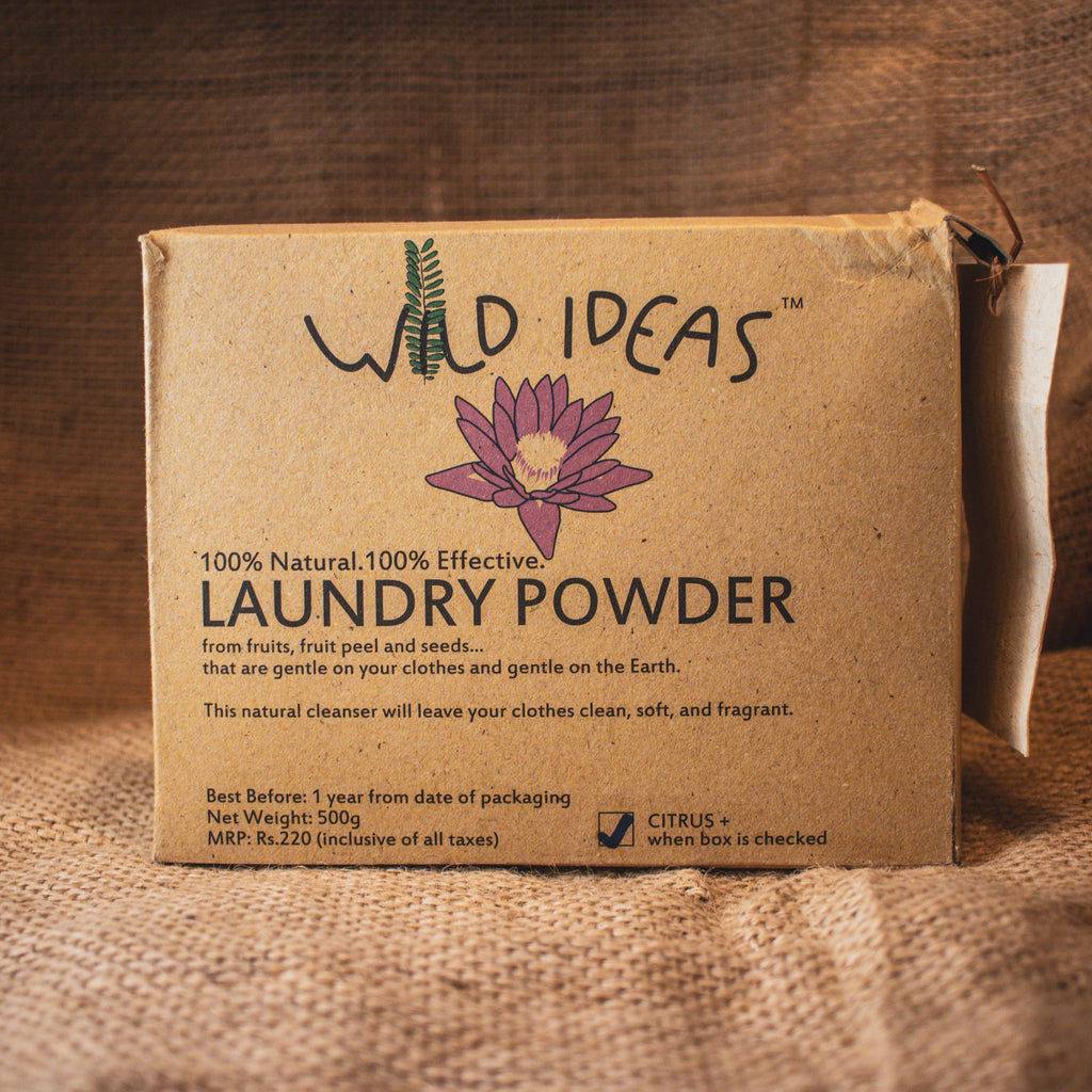 LAUNDRY POWDER CITRUS 500GM by WILD IDEAS - Vnya, Of the Wild