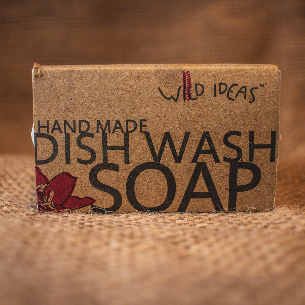 DISH WASH BAR SOAP 100GM by WILD IDEAS - Vnya, Of the Wild