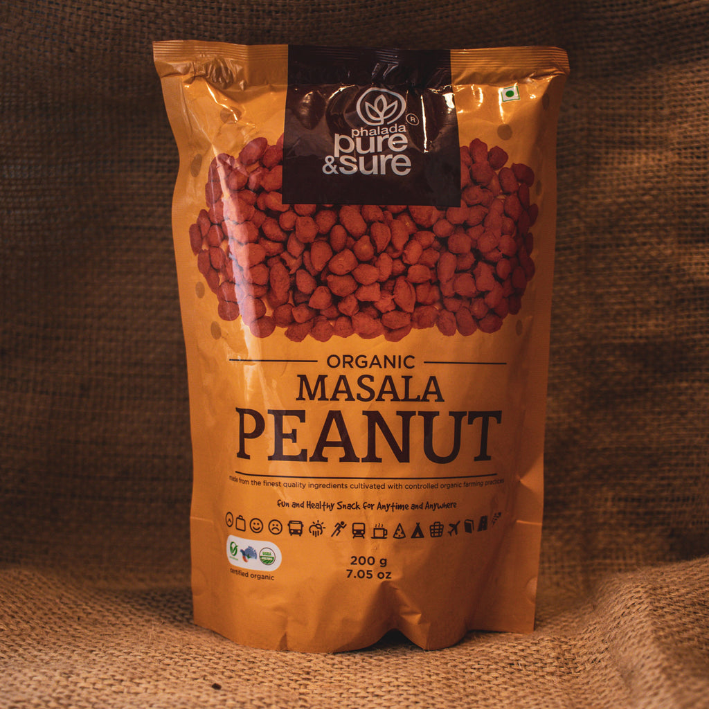 PEANUT MASALA 200GM by PURE & SURE - Vnya, Of the Wild