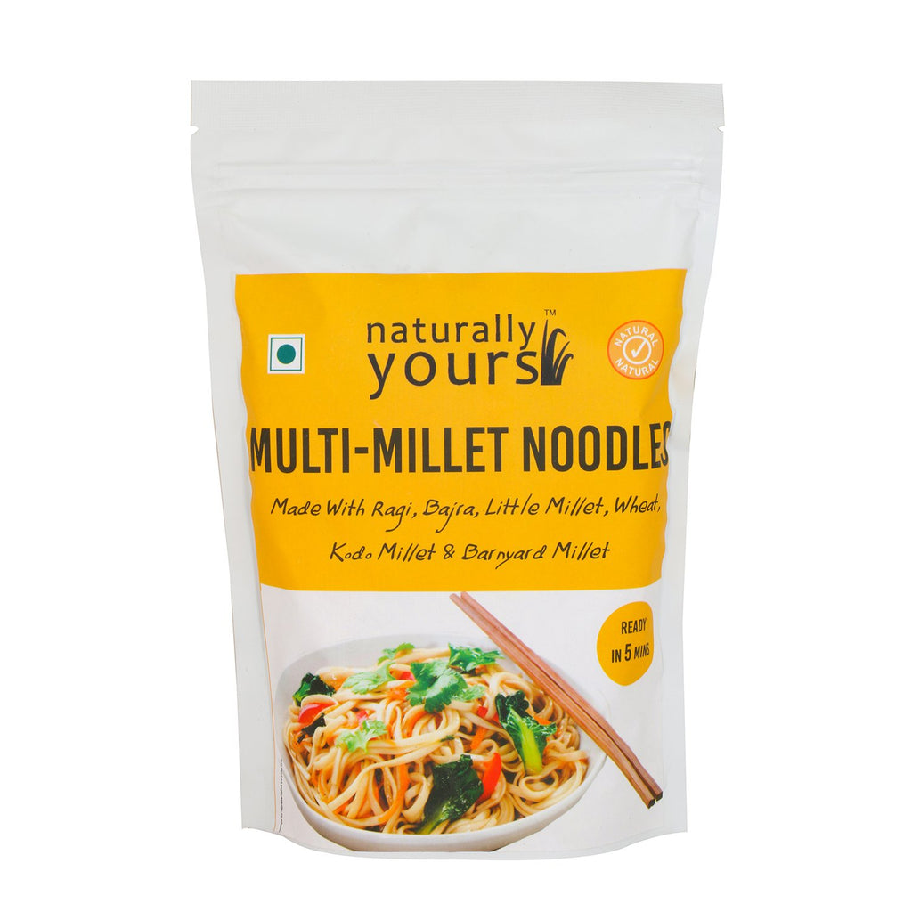 MULTIMILLET NOODLES 180G by NATURALLY YOURS - Vnya, Of the Wild
