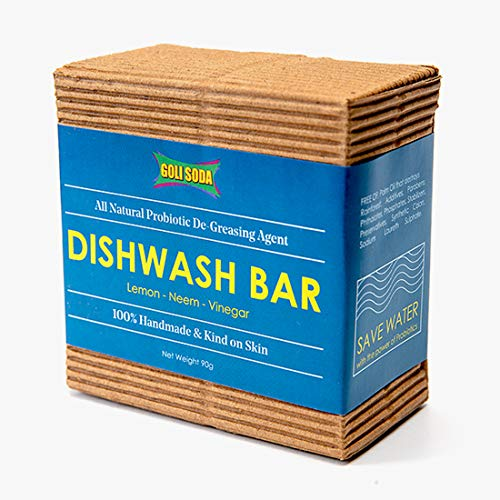 NATURAL PROBIOTIC DISHWASH BAR by GOLI SODA - Vnya, Of the Wild