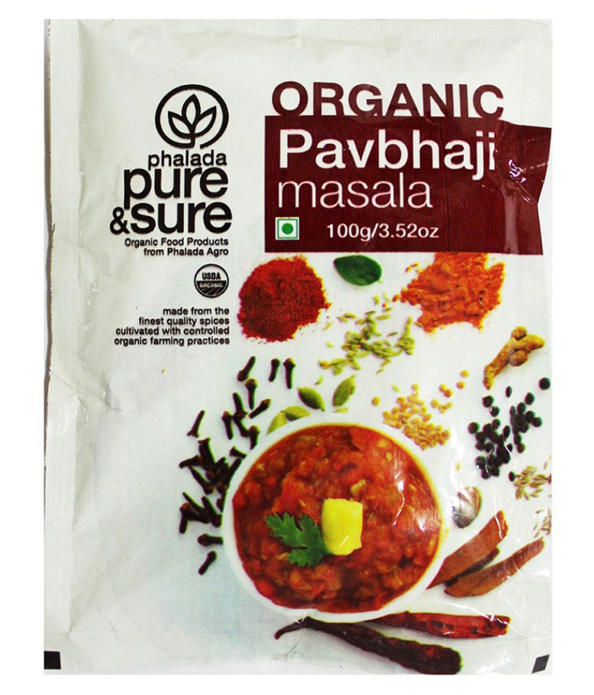 PAV BHAJI MASALA 100GMS by PURE & SURE - Vnya, Of the Wild