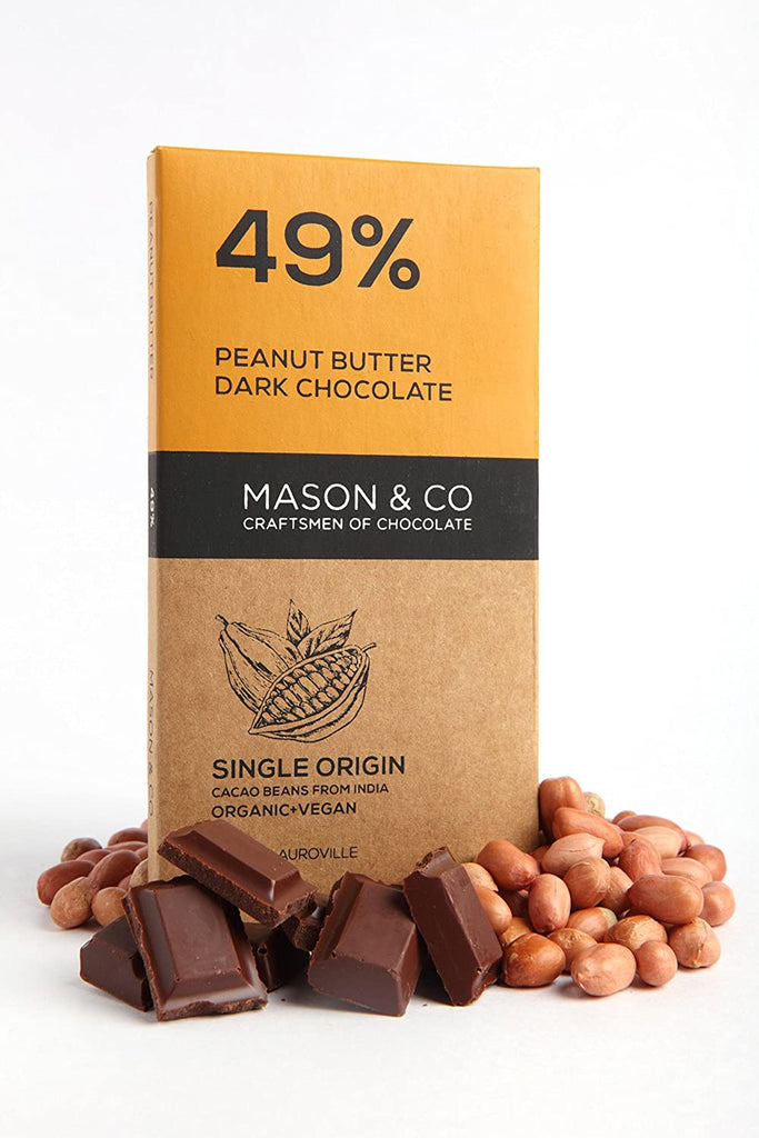49% CRUNCHY PEANUT BUTTER 60GM by MASON & CO - Vnya, Of the Wild