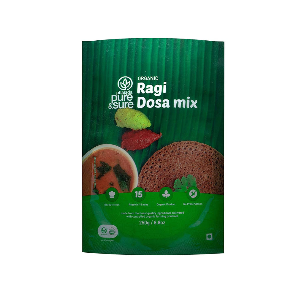 RAGI DOSA MIX 250GM by PURE & SURE - Vnya, Of the Wild