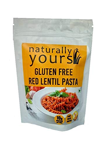 RED LENTIL PASTA 200GM by NATURALLY YOURS - Vnya, Of the Wild