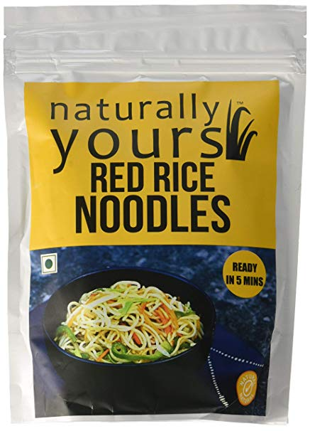 RED RICE NOODLES 180GM by NATURALLY YOURS - Vnya, Of the Wild
