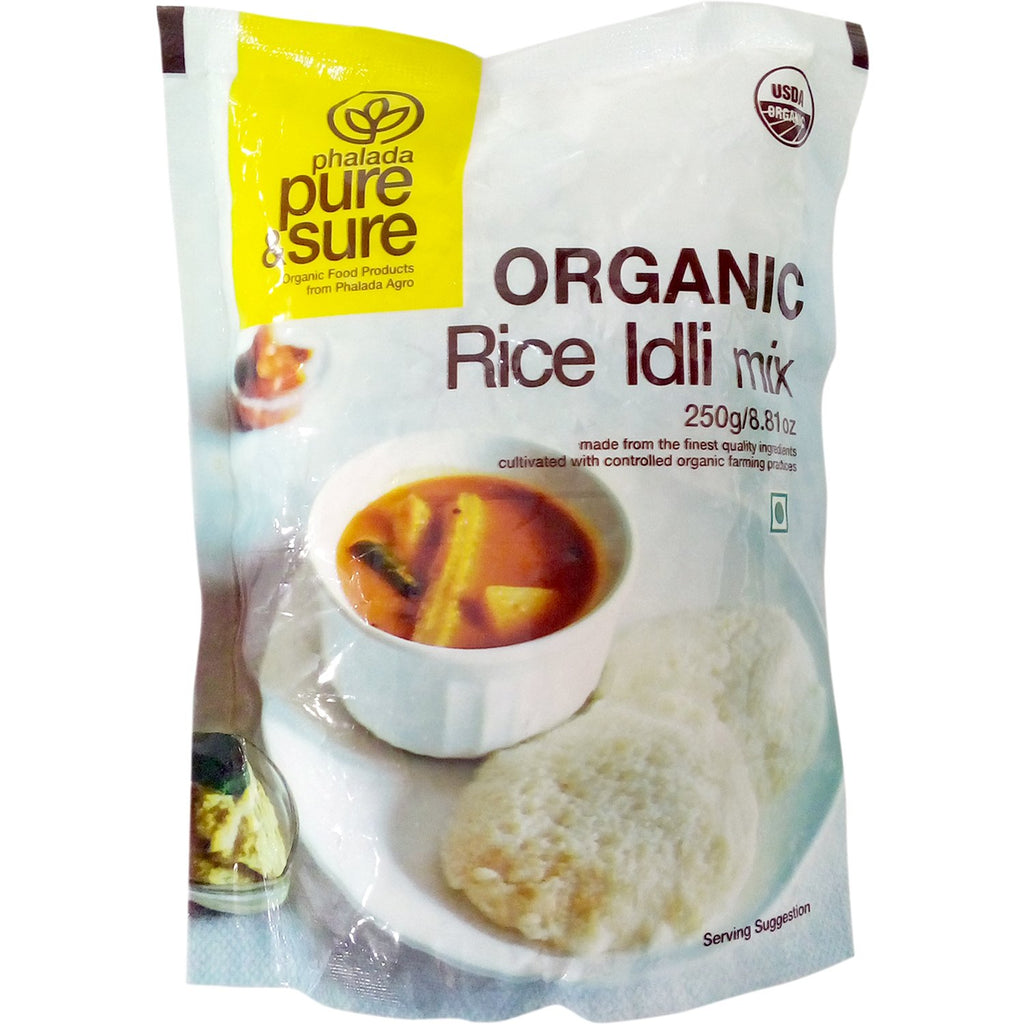 RICE IDLI MIX 250GM by PURE & SURE - Vnya, Of the Wild